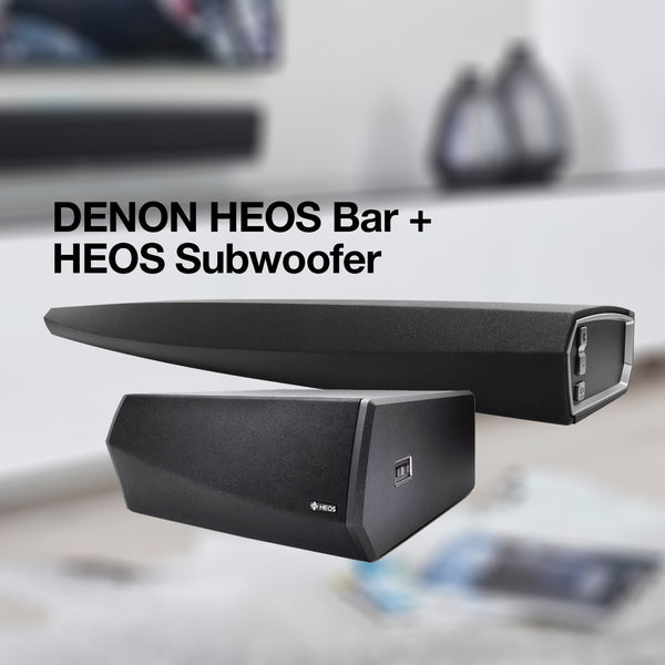 DENON HEOS Bar | HEOS Sub Bundle