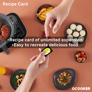 QCOOKER Intelligent multifunctional cooking machine