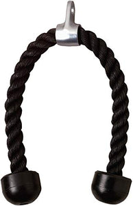 Universal Tricep Rope Pull Down - 28 Inch Heavy Duty Nylon Rope
