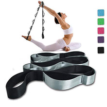 Load image into Gallery viewer, Yoga Strap, Multi-Loop Strap, 12 Loops Yoga Stretch Strap