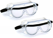 Load image into Gallery viewer, Anti-fog protective glasses transparent lens wide-angle adjustable soft glasses