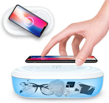 Load image into Gallery viewer, UV Light Sanitizer Box, Portable Phone UVC Light Sanitizer