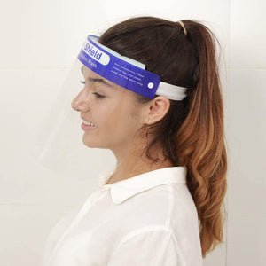2 Pcs Reusable Face Shields