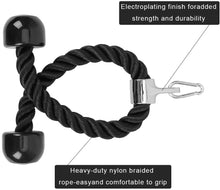 Load image into Gallery viewer, Universal Tricep Rope Pull Down - 28 Inch Heavy Duty Nylon Rope