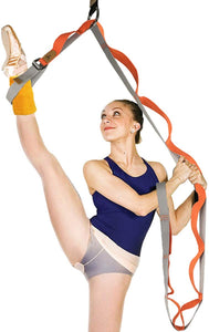 Leg Stretcher, Door Flexibility & Stretching Leg Strap - Great for Ballet Cheer Dance