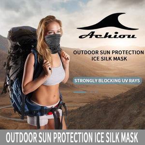 Neck Gaiter Face Mask Scarf Dust Sun Protection Cool Lightweight Windproof, Breathable Fishing Hiking Running Cycling