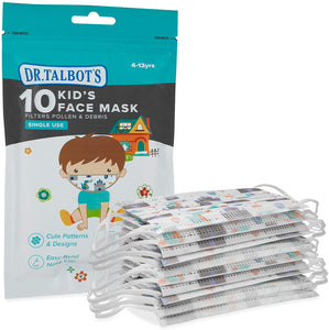 Disposable Kid's Face Mask for Health Protection  10 Pack
