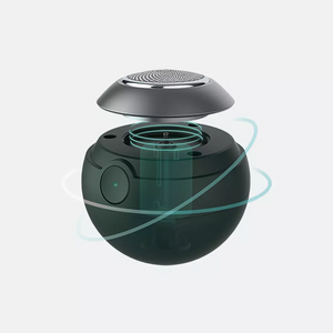 Spherical electric shaver dark green lm-t9 Pro