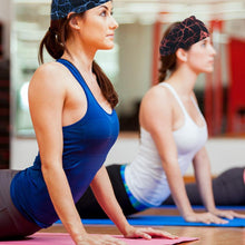 Load image into Gallery viewer, Yoga Sport Sweat Headband Absorbent