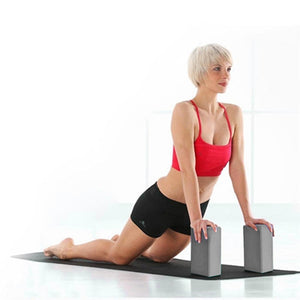 EVA Gym Blocks Foam Brick Training Exercise Fitness