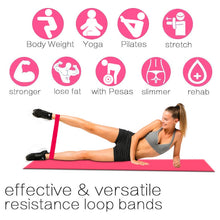 Load image into Gallery viewer, 5pcs/set Fitness Rubber Yoga Resistance Bands Equipment
