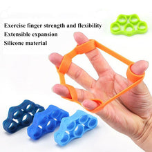 Load image into Gallery viewer, Silicone Finger Gripper Strength Trainer