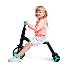Load image into Gallery viewer, Children Scooter Tricycle Baby 3 In 1 Balance Bike Ride On Toys Kids Bike
