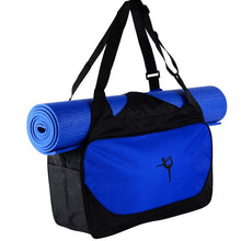 Load image into Gallery viewer, Multifunctional Sport Clothes Backpack Shoulder Waterproof Yoga Pilates Mat Case Bag