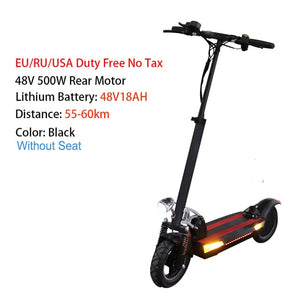 Adult Electric Scooter with seat foldable hoverboard new