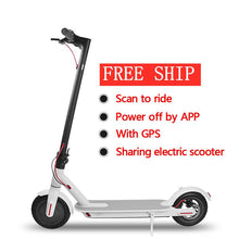 Load image into Gallery viewer, No Tax Door  Folding Electric Scooter For 8.5inch Wide Wheel Bicycle Scooter
