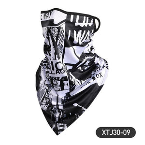 Printing Style Outdoor Scarf Mask Variety Turban Magic Scarves Face Mesh