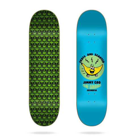 "(PRE-BOOK APRIL 2021) SK8MAFIA 8.0 - Cao ""Skate and Scratch - Skateboard Deck"