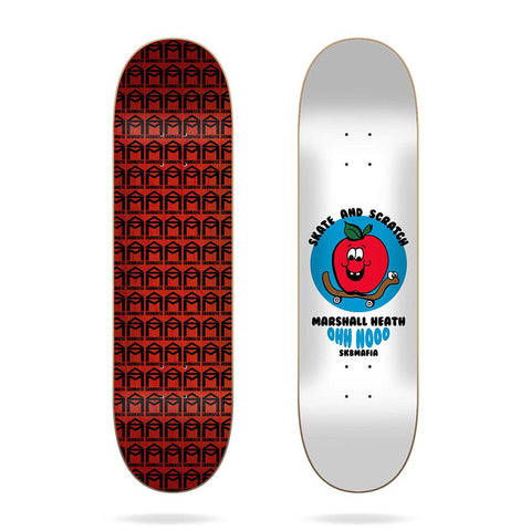 "(PRE-BOOK APRIL 2021) SK8MAFIA 8.1 - HEATH ""Skate and Scratch - Skateboard Deck"