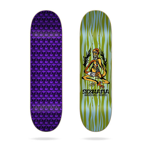 "(PRE-BOOK APRIL 2021) SK8MAFIA 8.1 - Heath ""Tribe"" - Skateboard Deck"