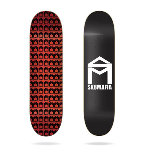 (PRE-BOOK APRIL 2021) SK8MAFIA 8.0 - House Logo BLACK - Skateboard Deck