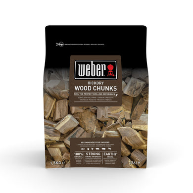 WEBER Weber Wood Chunks 1.5kg - Creative Outdoor Living