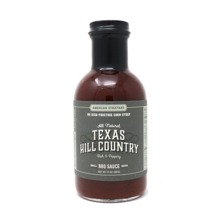 BBQ Gormet American Stockyard Texas Hill Country BBQ Sauce – 397g - Creative Outdoor Living