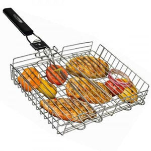 Broil King BROIL KING GRILL BASKET STAINLESS STEEL - Creative Outdoor Living