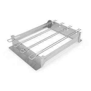 Broil King BROIL KING KEBAB RACK NARROW STAINLESS STEEL - Creative Outdoor Living