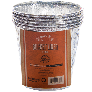 Traeger TRAEGER BUCKET LINER-5 PACK - Creative Outdoor Living