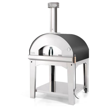 Fontana Fontana Marinara Outdoor Wood Fired Oven Anthracite including Trolley - Creative Outdoor Living