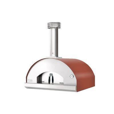 Fontana Fontana Marinara Outdoor Wood Fired Oven Rosso Built In - Creative Outdoor Living