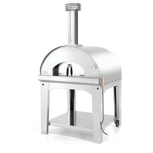 Fontana Fontana Marinara Outdoor Wood Fired Oven Stainless Steel Including Trolley - Creative Outdoor Living