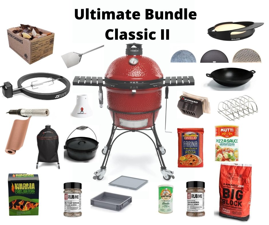 Kamado Joe Kamado Joe  - Classic II Ultimate Bundle - Creative Outdoor Living