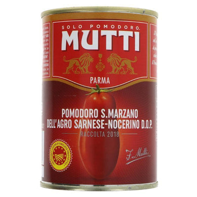 Continential Foods Mutti San Marzano Peeled Tomatoes 1 x 400g - Creative Outdoor Living