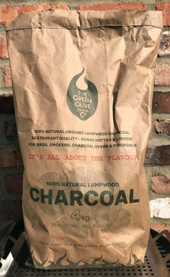 Olive Wood Olivewood Lumpwood Charcoal 4kg - Creative Outdoor Living