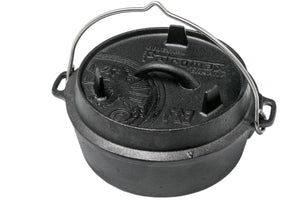 Petromax Petromax Dutch Oven ft3 flat base, FT3-T - Creative Outdoor Living