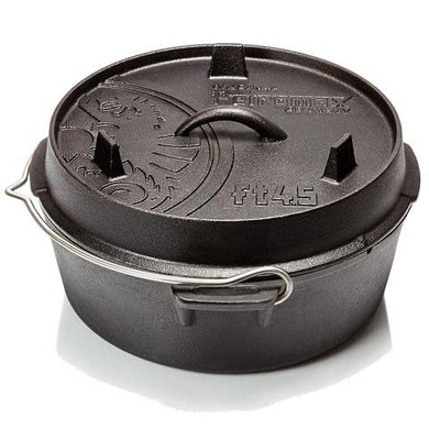 Petromax Petromax Dutch Oven ft4,5 (flat base) - Creative Outdoor Living