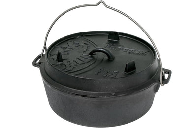 Petromax Petromax Dutch Oven ft6 flat base, FT6-T - Creative Outdoor Living