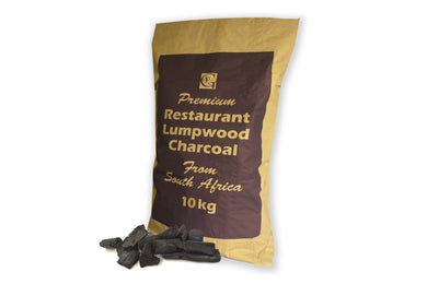 Logs Direct RESTAURANT PREMIUM GRADE LUMPWOOD CHARCOAL 10KG - Creative Outdoor Living