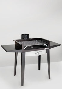 Creative Living Rotherham Rosso fuocco easy up bbq - Creative Outdoor Living