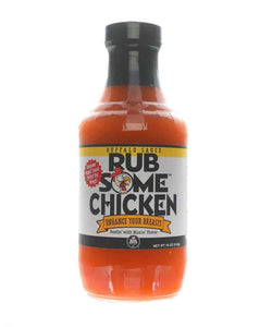 BBQ Gormet Rub Some Chicken Buffalo Sauce - 482g (17 oz) - Creative Outdoor Living