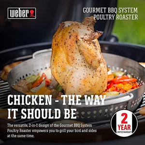 Creative Living Rotherham Weber gbs poultry roaster - Creative Outdoor Living