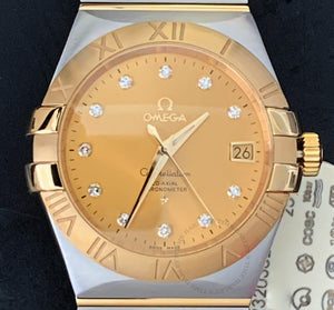 Omega Constellation 123.20.35.20.58.001 CO‑AXIAL 35 MM