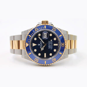 Rolex Submariner Blue Dial Gold and Steel 126613LB New 2020 41 mm