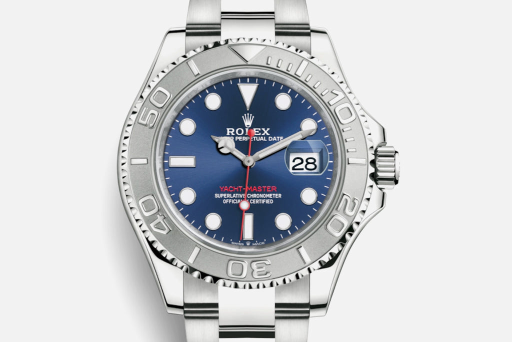 Rolex Yacht-Master  40mm blue dial 126622