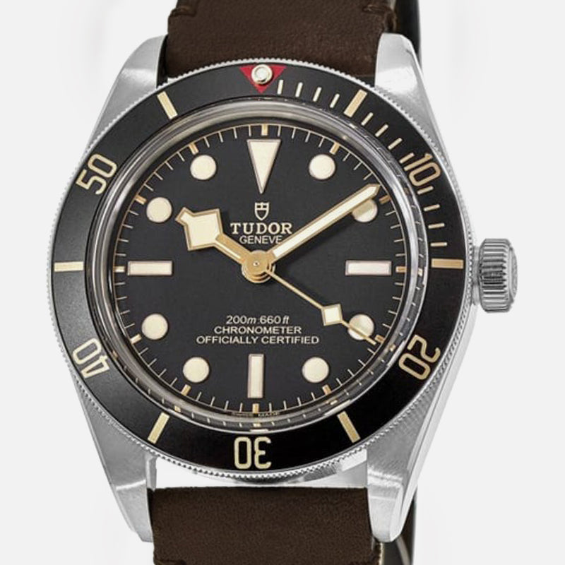 Tudor Black Bay Fifty-Eight 39mm Leather strap 79030N