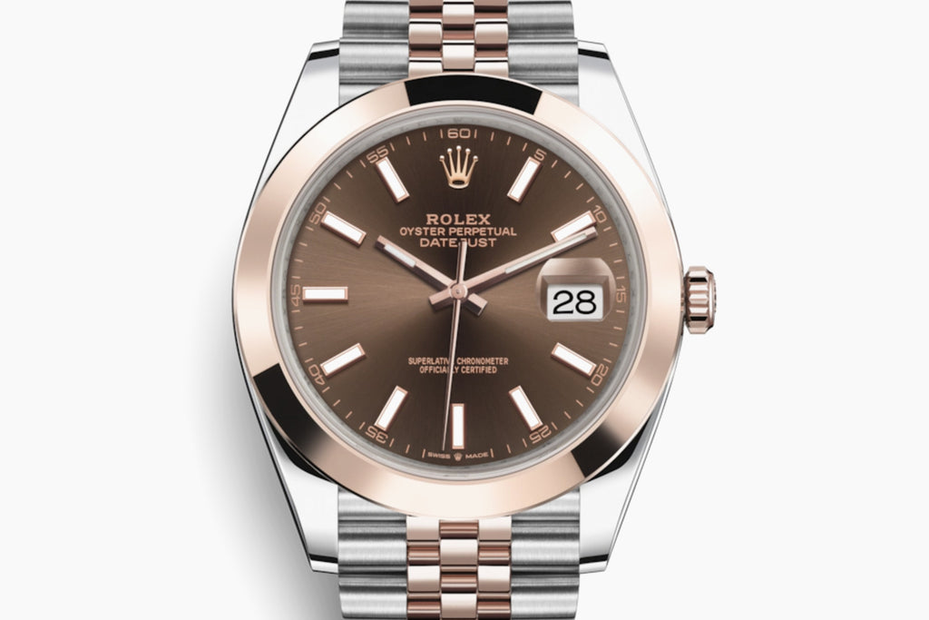 Rolex Datejust 41mm Jubilee Chocloate Dial Gold /Steel bracelet 126301