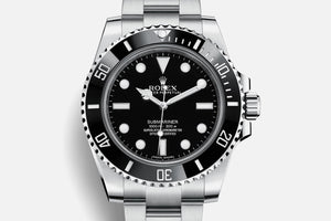 Rolex Submariner 40mm No Date Stainless Steel bracelet 114060