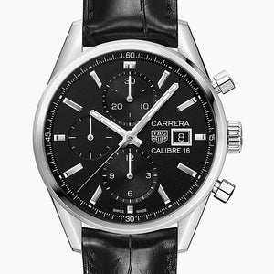 TAG Heuer TAG Carrera Calibre 16 Chrono 41mm Leather strap CBK2110.FC6266